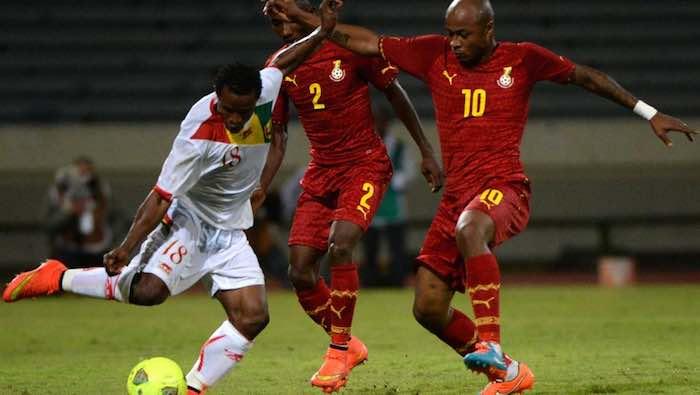 Le Ghana plus fort que la Guinée, accède en demi-finale: 3-0