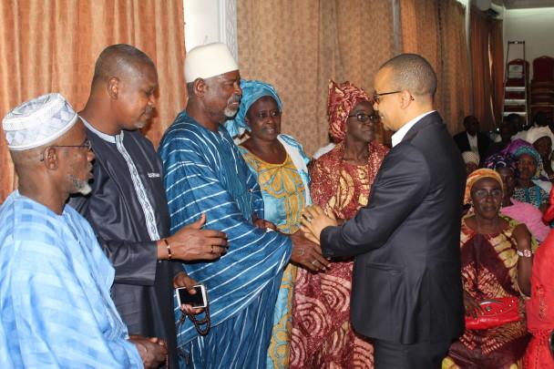 Les assurances Souleymane Jules Diop à la Communauté Sénégalaise en Côte D'Ivoire