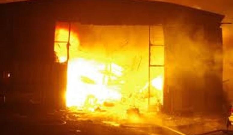 Incendie à Kaolack : d'importants dégâts matériels notés, des animaux domestiques tués