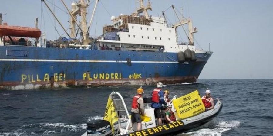 Pêche Témoin de plusieurs irrégularités, Greenpeace révèle de nouveaux cas de mauvaises pratiques en Afrique de l'Ouest