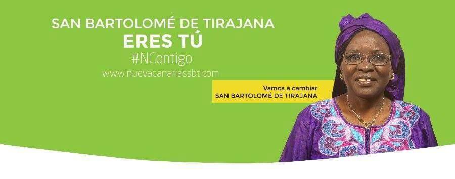 Espagne : Notre compatriote Khady Diaw à la conquête de la mairie de San Bartolome de Tiravana