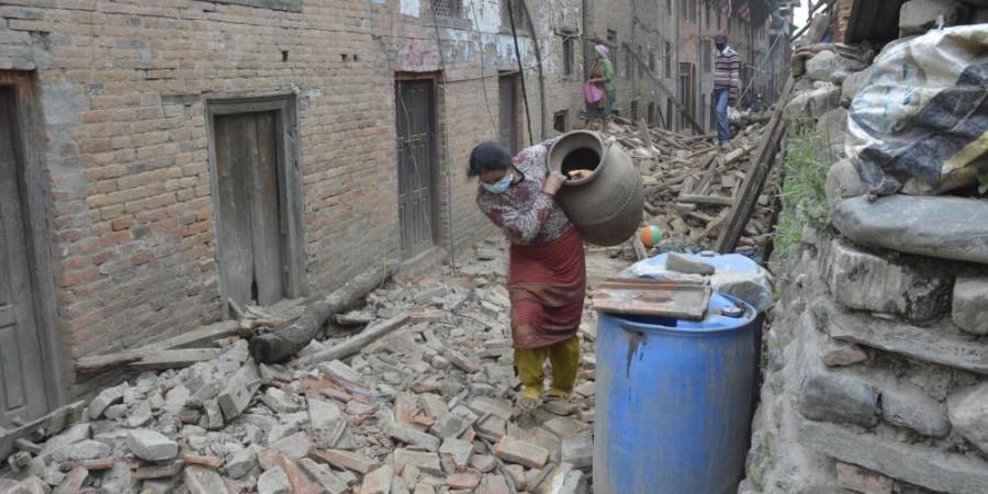 Népal : Le séisme  a fait plus de 6 200 morts et près de 14 000 blessés, selon un nouveau bilan