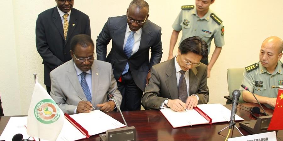 CEDEAO : La Chine offre du matériel militaire à la force en attente
