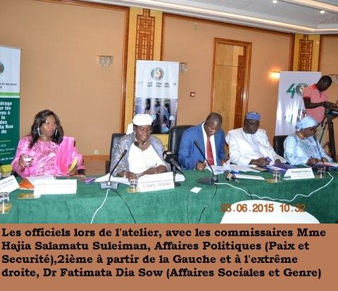 CEDEAO/ Phénomène des enfants dans la rue, les recommandations issues de la rencontre de juin 2015 tenue à Dakar