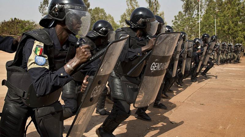 Maka Koulibanta réveillée par des coups de feu, les gendarmes font capoter un braquage