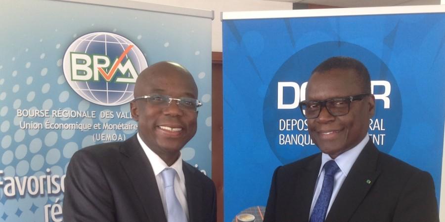 PCA de la BRVM : Pierre Goudiaby Atépa officiellement installé