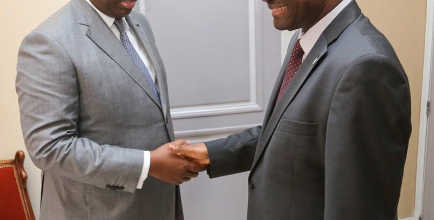 Entretien Désiré Kadré Ouédraogo et Macky Sall : Paix, sécurité et développement économique au menu