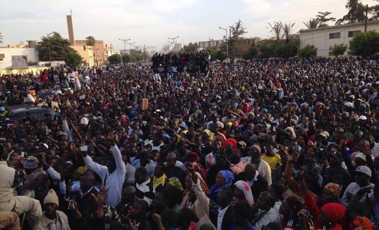 Manifestation : l'opposition s'est mobilisé hier  pour demander une élection présidentielle transparente