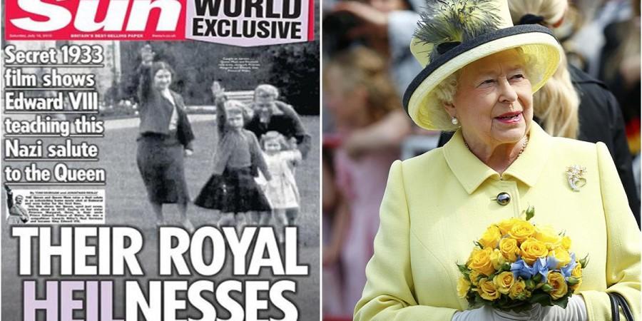 Angleterre : Le salut Nazi de la future reine fait polémique