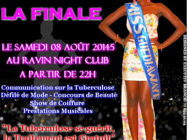 Finale de Miss Guédiawaye 2015 : 8 candidates en lice pour la couronne