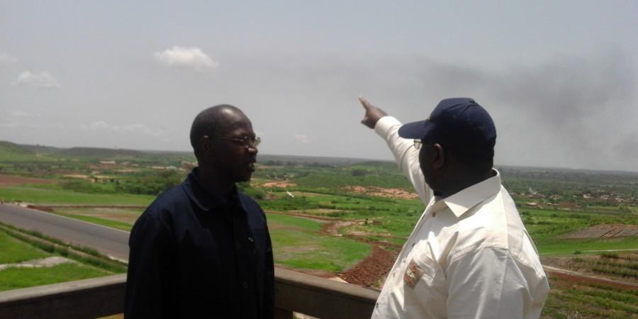 Autoroutes Diamniadio-AIBD et AIBD-Mbour: Macky Sall  satisfait de  l'état d'avancement des travaux