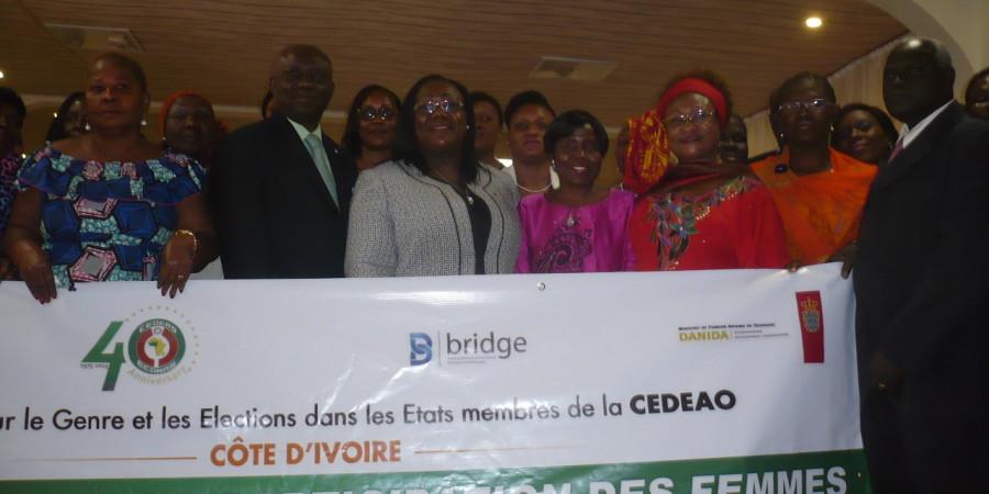 CEDEAO/Côte-d'Ivoire : Pour une participation plus active des femmes ivoiriennes au processus électoral