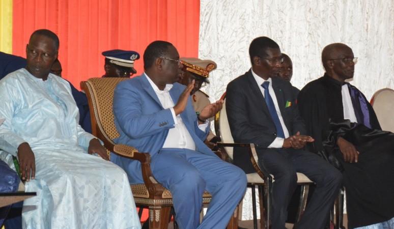 UCAD : Le Recteur magnifie la visite historique du Président Macky Sall