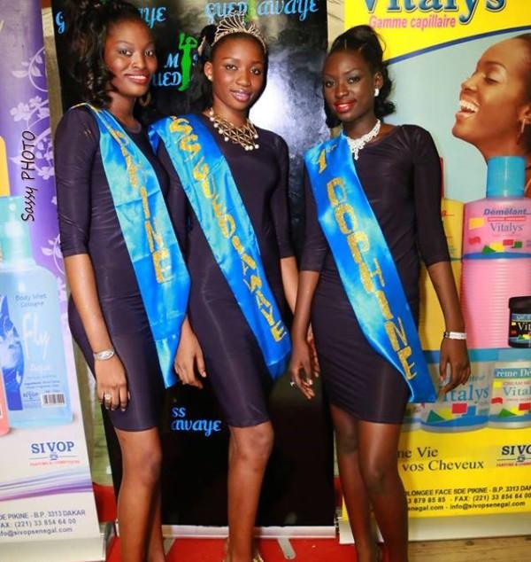 Miss Guédiawaye et ses dauphines