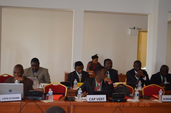 CEDEAO6rencontre de Dakar-Aout 2015 2