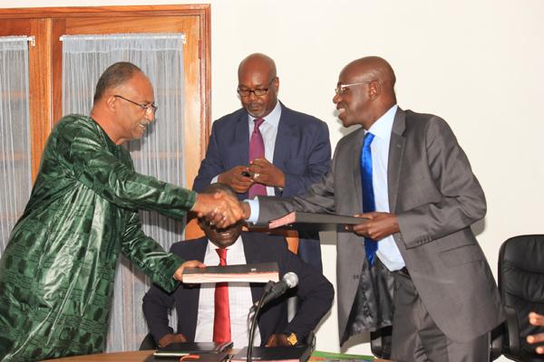 Le BMN et l'ADEPME unis par un protocole visant à améliorer la compétitivité des Petites et moyennes entreprises sénégalaises