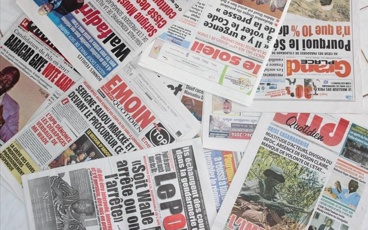 Revue de presse : l'insulteur Assane Diouf à la une de la presse sénégalaise
