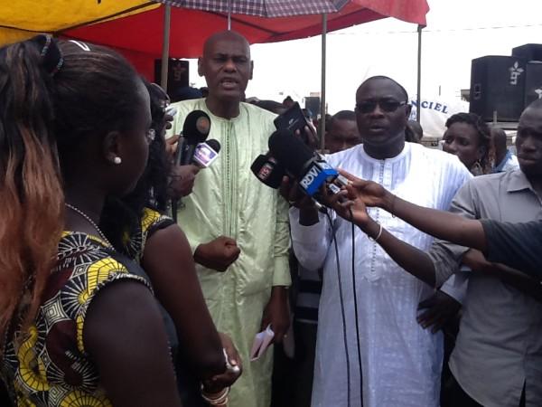 Youssou Touré à Keur Massar