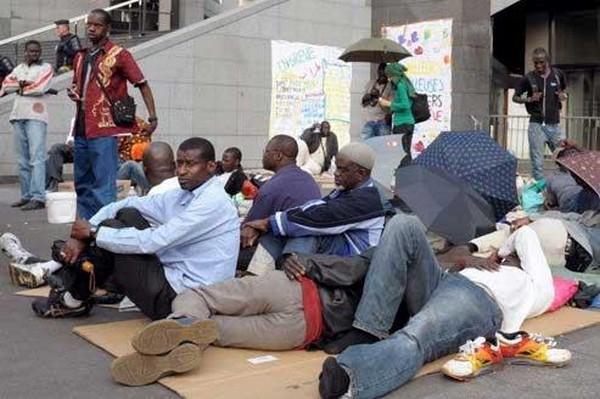 Manifestation non-autorisée Arrestation de 7 ex travailleurs des agences dissoutes
