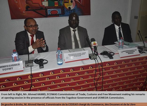 APE : Une réunion régionale sur le Cadre Institutionnel et son  Programme de Développement se tient à Lomé