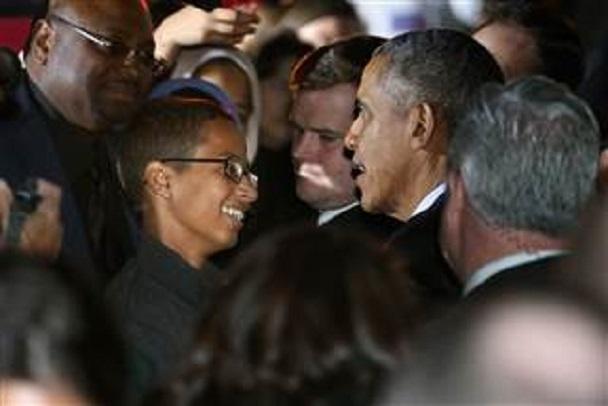 Ahmed Mohamed, victime d'injustice, parmi des célébrités et photographié avec Obama