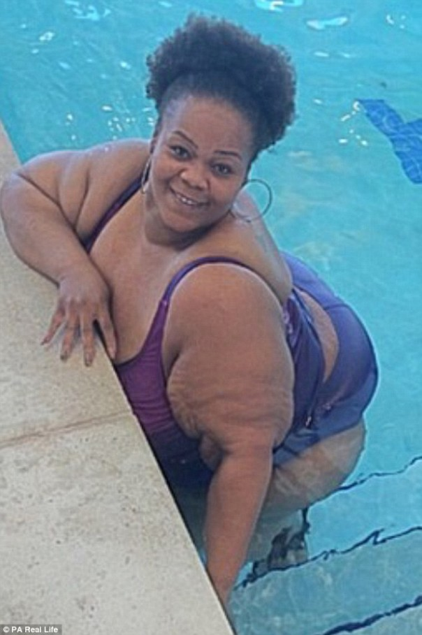 Catrina Raiford, la plus Grosse femme