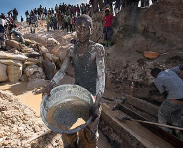 Conditions dans les mines