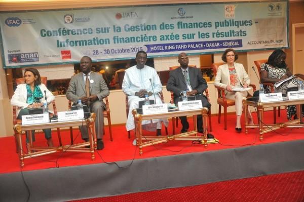 Conférence sur l'Information financière axée sur les résultats, Amadou Bâ salue la pertinence du thème