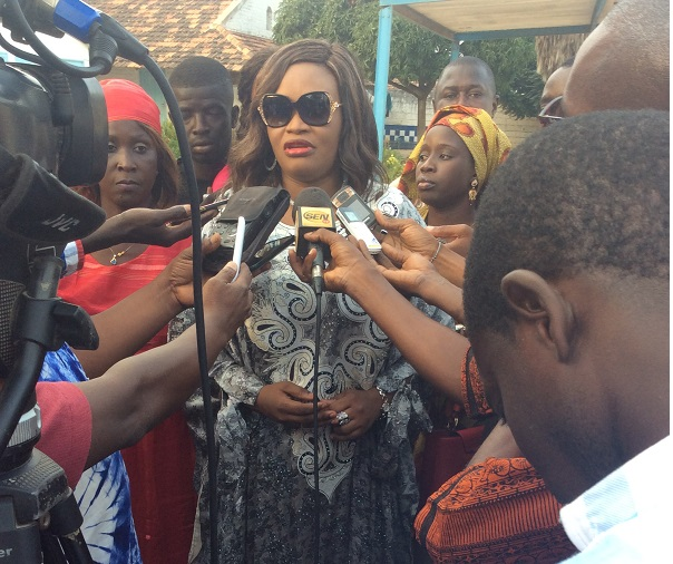 Mme Fatou Tambédou caravane nationale de l'Émergence  2