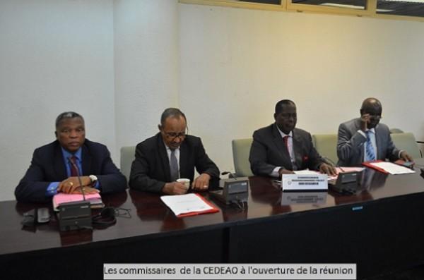 UEMOA/CEDEAO Les commissaires sectoriels évaluent l'état d'avancement de leurs chantiers de convergence