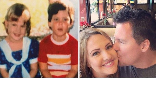 Quand une amourette du préscolaire devient du solide trente ans plus tard
