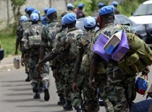 Élection présidentielle et venue du Pape François : 300 casques bleus sénégalais en route vers la Centrafrique