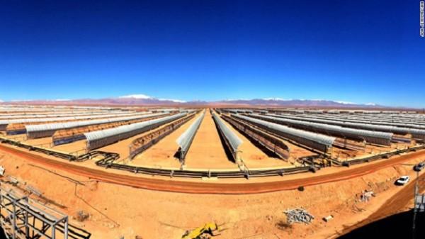 Le Maroc va construire la plus grande centrale solaire concentrée du monde
