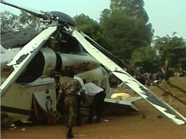 Côte d'Ivoire : crash d'un hélicoptère Mi 24 à l'aéroport d'Abidjan