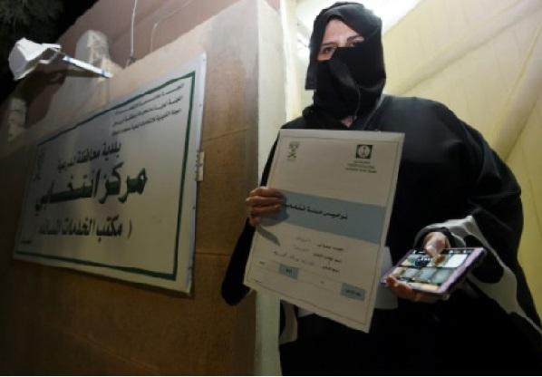 Les femmes ont voté hier pour la première fois en Arabie Saoudite