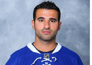 Nazem Kadri, 25, rising star in the National Hockey League