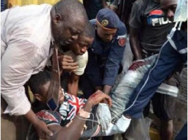 Rufisque : Grosse frayeur à Thiokho, un porte-conteneur s'encastre dans une maison