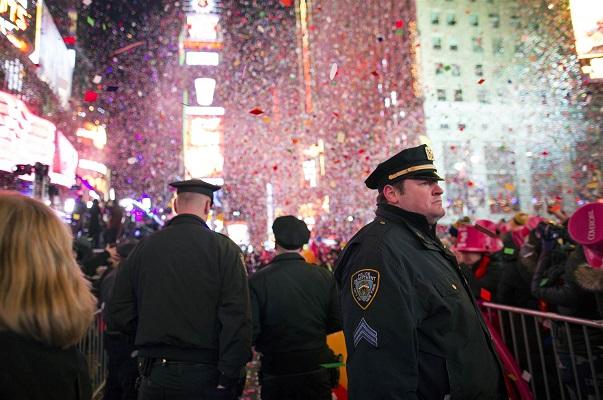 New-York ne badine pas avec sa sécurité, Times Square Garden se blinde pour accueillir le Nouvel An