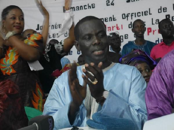 Malick Gakou mobilise à Mbour et promet de d'afficher sa position sur le Référendum le 24 février prochain