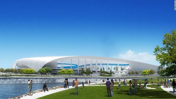 Footbal américain Los Angeles va construire le complexe sportif le plus cher du monde