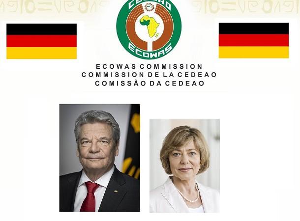 CEDEAO  La visite de M. Joachim Gauck Président de la République fédérale d'Allemagne, relance la coopération