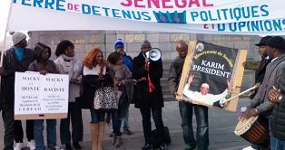 Manif à Bruxelles de pro-Karim