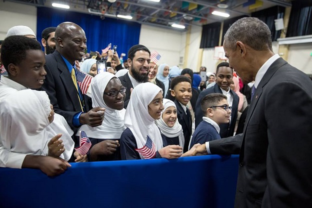 Etats-Unis    Le message de Barack Obama hier à sa visite à la communauté musulmane