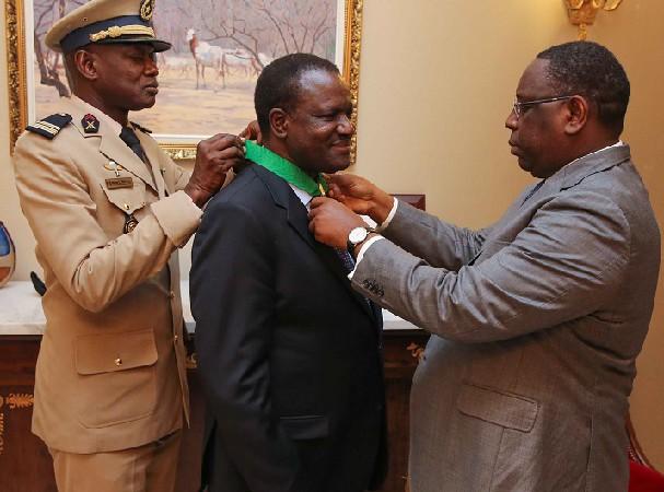 CEDEAO/Sénégal Kadré Désiré Ouedrago élevé au rang de commandeur de l'Ordre national du lion