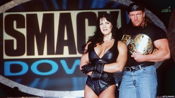 Chyna and Triple H appeared together at Smackdown in 1999 and dated between 1996 and 2000