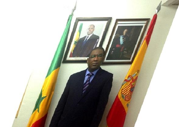 Espagne le Consul Général du Sénégal Mouctar Bélal BA en visite du 12 au 14 avril