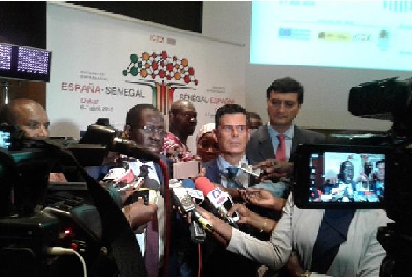 Sénégal Espagne Le Secteur Privé sénégalais en concertation win-win avec plus de 30 entreprises espagnoles
