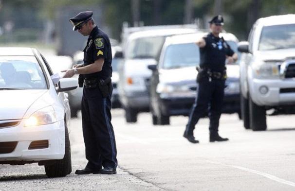 West Bridgewater/Massachussetts 110 personnes verbalisées en 4 heures pour conduite irresponsable