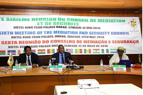 CEDEAO Les questions sécuritaires régionales au menu du 36ème conseil de médiation et de sécurité