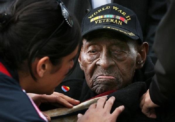 Le plus vieux vétéran de la seconde guerre mondiale est décédé à l'âge de 110 ans